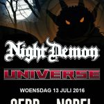 13-JUL-2016: Supporting Act for NIGHT DEMON in Leiden/NL