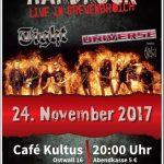 24-NOV-2017 CLUBGIG WITH TIGHT AT KULTUS