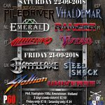21-SEP-2018 UNIVERSE ROCKS HEAVY METAL MANIACS FESTIVAL